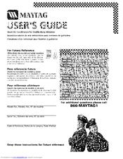 MAYTAG 23-11-2198N-005 User Manual