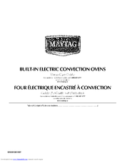MAYTAG MEW5524AS0 Use & Care Manual