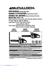 mcculloch eager beaver 2014 manuals rh manualslib com McCulloch 2014 Chainsaw Parts mcculloch eager beaver 2014 repair manual
