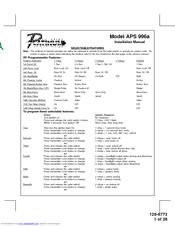 audiovox aps996a prestige remote security system manuals rh manualslib com Gutter Installation Guide O-Ring Installation Guide