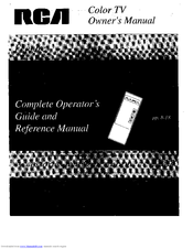 RCA IB-X20162GS Owner's Manual