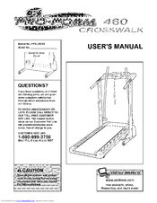 proform 590 ls crosswalk treadmill manual