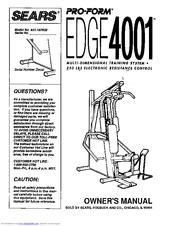 proform 770 ekg treadmill owners manual