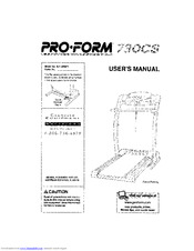 proform 730cs manuals rh manualslib com proform 730cs treadmill manual Proform 730CS Parts