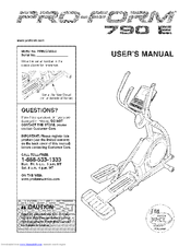 proform 795 sl treadmill manual