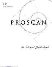 proscan ps27600yx1al4 manuals rh manualslib com