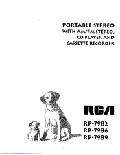 RCA RP-7989 User Manual