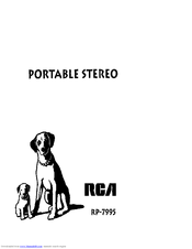 RCA RP-7995 User Manual