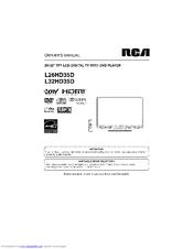 RCA L32HD35D - 32