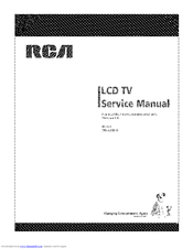 rca 26la33rq service manual pdf download rh manualslib com RCA Flat Screen TV Manual RCA Converter Box Manual