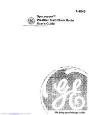 ge spacemaker clock radio manual