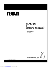 RCA 22LA45RQ User Manual