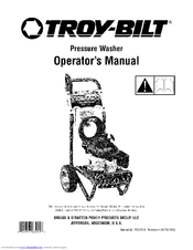 troy bilt 020344 2 manuals rh manualslib com Troy-Bilt Pressure Washer 020344 Troy-Bilt Pressure Washer 020344