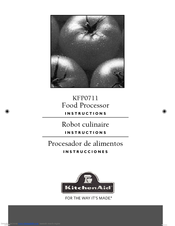 KitchenAid KFP0711 Use & Care Manual