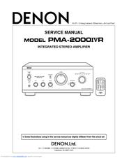 Denon AVR - Manual - AV Surround Receiver - HiFi Engine