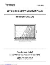 venturer plv31220s1 manuals rh manualslib com Venturer TV Remote venturer tv instruction manual
