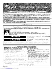 Whirlpool du810swpu4 manuals whirlpool du810swpu4 user instructions solutioingenieria Image collections