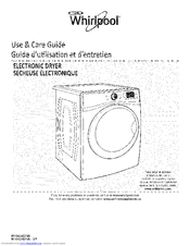 WHIRLPOOL WGD97HEXW2 Use & Care Manual