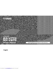 YAMAHA RX-V673 OWNER'S MANUAL Pdf Download