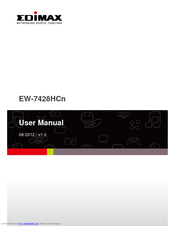 EDIMAX EW-7205AP WIRELESS RANGE EXTENDER TREIBER