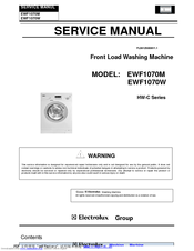 electrolux ewf1070m manuals rh manualslib com electrolux service manual eflw417siw0 washer electrolux service manual download