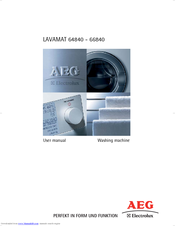 aeg lavamat 64840 manuals rh manualslib com AEG South Africa AEG Electrical Products