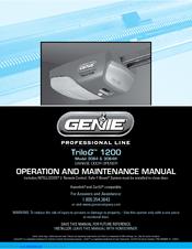 Genie Trilog 1500 4064 Manuals
