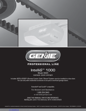 Genie Intellig 1000 3024 Manuals