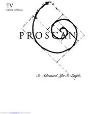 proscan ps27500 user manual pdf download rh manualslib com