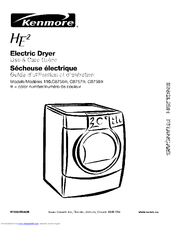 Kenmore 110.C8756 Series Use & Care Manual