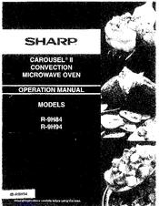 sharp carousel ii r 9h94 operation manual pdf download rh manualslib com Sharp Carousel 2 Convection Microwave sharp carousel ii convection microwave manual