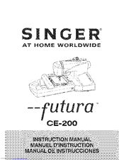 singer futura embroidery machine troubleshooting