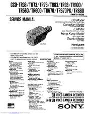 sony ccd tr880 manuals rh manualslib com sony handycam instructions manual dcr sx45 sony handycam user guide