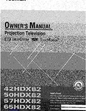 toshiba 50hdx82 manuals rh manualslib com Toshiba Regza 46 Manual Toshiba Office Phones Manuals