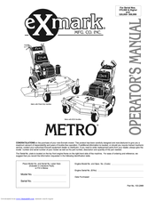 exmark metro manuals rh manualslib com Exmark Parts Lookup Exmark Parts Lookup