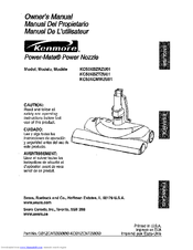 Kenmore Power-Mate KC50XBZRZU01 Owner's Manual