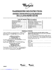Whirlpool YLTE6234DQ3 User Instructions