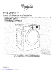 Whirlpool WED97HEXW4 Use & Care Manual