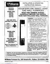 williams 4007732 manuals williams 4007732 owner s manual