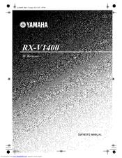 yamaha rx v1400 owner s manual pdf download rh manualslib com Thx Yamaha Receiver RX V14.0.0 yamaha rx v1400 service manual