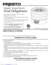 Food dehydrator инструкция