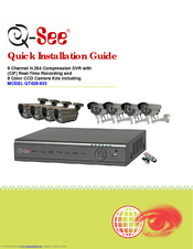q see qt428 833 manuals rh manualslib com Q-See Logo Q See 8 Channel