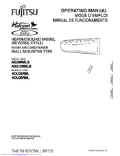 Fujitsu Halcyon Mini Split Service Manual - Wiring Diagram •