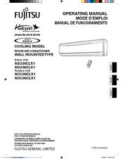 fujitsu inverter halcyon asu30clx1 manuals rh manualslib com  fujitsu asu15rlq installation manual