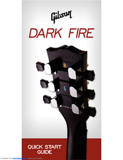 gibson dark fire system manuals rh manualslib com Gibson Invader Gibson Futura