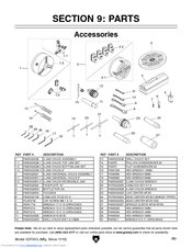 Grizzly G0750G Parts List