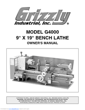 Grizzly G4000 Owner's Manual