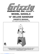 GRIZZLY G0555LX OWNER'S MANUAL Pdf Download
