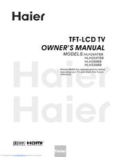 Haier Hlh326bb 32 Lcd Tv Manuals Manualslib