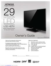 hitachi le29h306 manuals rh manualslib com Hitachi Ultravision HDTV Hitachi HDTV Troubleshoot